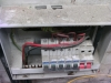 Damaged Circuit Breaker (3) - Ingress protection required